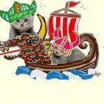 家貓經萬年馴化,足跡遍天下,連維京船都有牠!