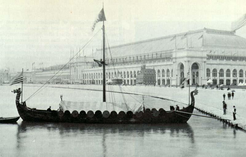 viking_replica_of_the_gokstad_viking_ship_at_the_chicago_world_fair_1893